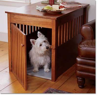 Wood Dog Crate Furniture Plans DIY wood projects planter boxes